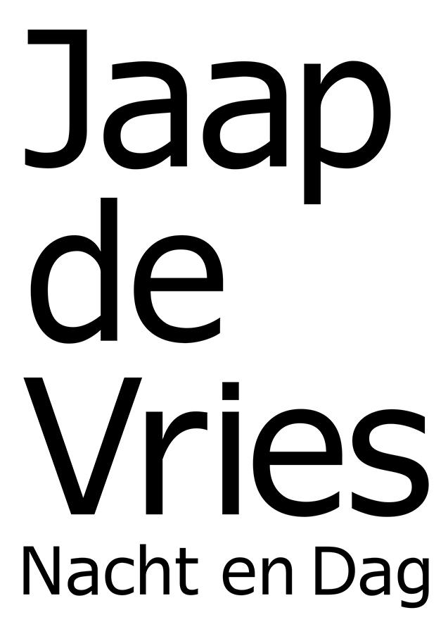 JAAP DE VRIES - NACHT EN DAG