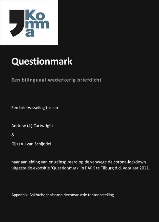 ANDREW CARTWRIGHT & GIJS VAN SCHIJNDEL